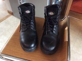 Dickies steel cap work boots size 10