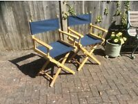 Two Directors chairs