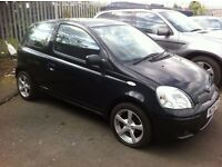\\ SALE PRICE // 05 TOYOTA YARIS 1.3 COLOR COLLECTION, 85000 MILES, MOT OCTOBER.