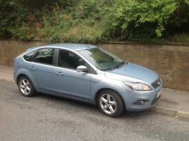 Ford Focus zetec 100 with recent full service and new battery