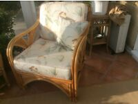 Free to collect Cane armchair