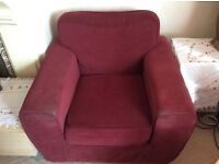 A good condition 3 seat and 2 of single sofas . Free to collect