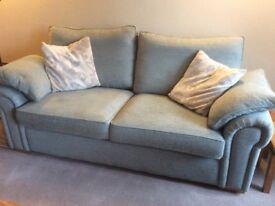 Large blue sofa, little used