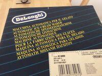 Delonghi automatic ice cream maker. Never used