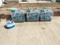 Rosewood hamster cages x 3 excellent condition hardly used.
