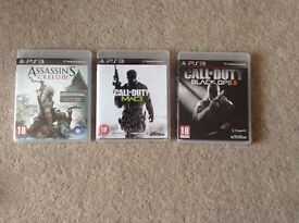 Games for PS3 bundle of 3