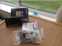 Garmin sat nav Nuvi 2508lt-d little used all leads still in wrapping and boxed paid £149