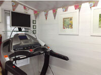 Treadmill For Sale: with a variety of features: hills, speeds, varying inclines, heart monitor.