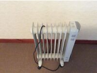 Oil electric heater