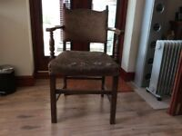 Vintage dining room chair