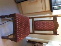 Old Charm Dining Table & 4 Chairs Solid Oak