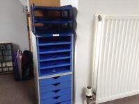 Drawer & shelf units