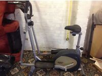 Life Gear cross trainer/exercise bike