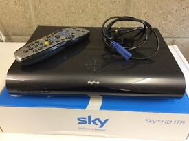 SKY+HD DRX895 1.5TB Satellite Receiver With Remote & Power Lead