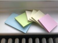 Bundle of Assorted Coloured Post It Pads