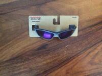 Minoti boys black sports sunglasses brand new