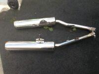 Kawasaki zzr1400 exhaust cans