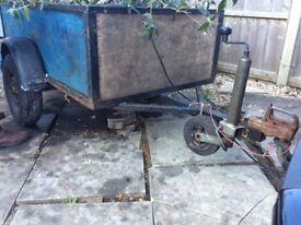 3x4 ft car trailer