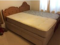 Single divan beds. Will sell separately. £40 each.