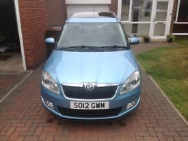 2012 Skoda Roomster, MOT August 2019, Low Mileage, Full Panoramic Roof, Air Conditioning