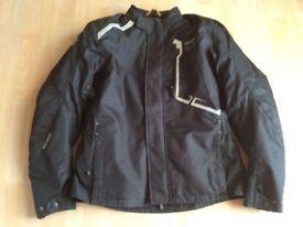 Motor bike black jacket