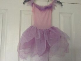 Pink and lilac. Ballet tutu. Fairy costume