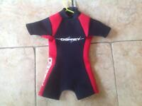 Sporting Goods Hospitable New Osprey Womens Short Wetsuit Sixe Small Canoeing & Kayaking