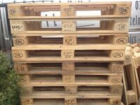 Clean euro pallets can deliver to your door