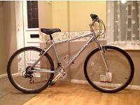 Quality Raleigh lightweight aluminium gents bike (hardly used)