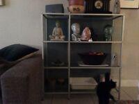 Glass unit designer italian room divider