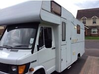 Mercedes 308d motor home prices drop to sell £5800