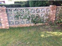 Decorative Ornamental Concrete Garden Wall Blocks