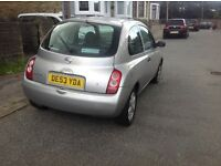 Nissan micra 2003 spares or repairs