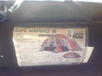 San Marino 8 Man tent,