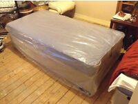 New - Single bed frame and mattrase - brand new