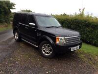 Landrover discovery 3 4x4 7 seater (low miles )