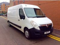 "2011 (11) VAUXHALL MOVANO 2.3CDTI LWB 3500KG PANEL VAN MOT FOR ARE FULL YEAR""""""""NO VAT TO PAY"""""