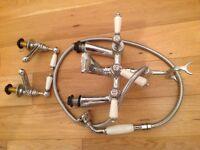 Brittany Renaissance Bathroom Taps & Shower Head