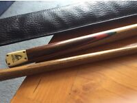 Pool/Snooker Cue BCE with Bag, 1.45m Length