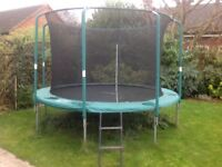 12ft Skyline Plus Trampoline with ladder