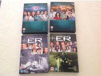 E.R DVDs Complete Series 1,2,7