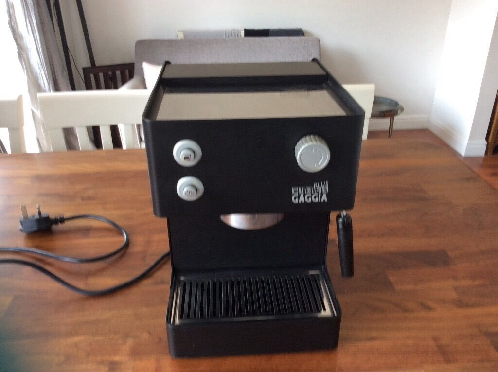 Gaggia coffee machine only used once | in Norwich, Norfolk | Gumtree