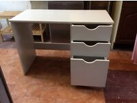 Childs White Office/Bedroom 3 Drawer Desk. Very sturdy.