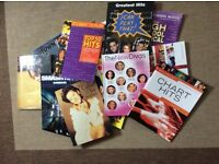 Smash Hits Sheet Music, big names song albums - all for voice and piano with guitar tabs nearly new