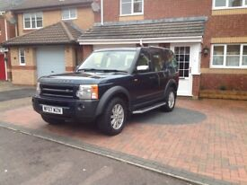 Discovery. 3. Buckingham Blue with Cream Leather. Full Service History. New Cam-Belt