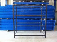 4 TIER INDUSTRIAL WAREHOUSE GARAGE SHED SHOP SINGLE BAY RACKING SHELVING UNIT