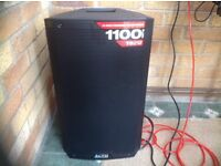 """ALTO 12""""2 WAY POWERED LOUDSPEAKER 1100 WATTS MODEL TS 212 AS NEW CONDITION"""