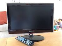 """Samsung 19"""" Widescreen HD Ready Slim LED Television with Built-in Freeview"""