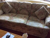 Sofa Well Made Cream Background Beautiful Design