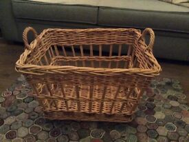 Large Pretty Wicker Basket